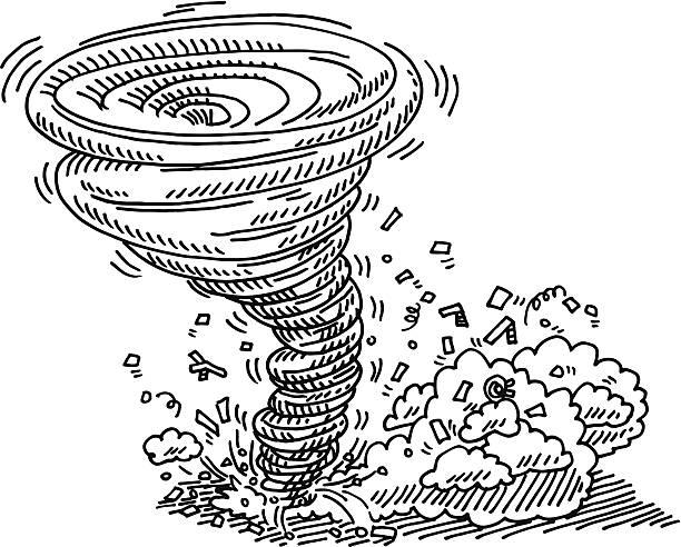 Royalty Free Hurricane Damage Clip Art, Vector Images