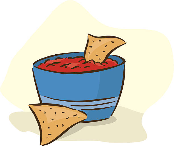 Royalty Free Tortilla Chips Clip Art, Vector Images ...
