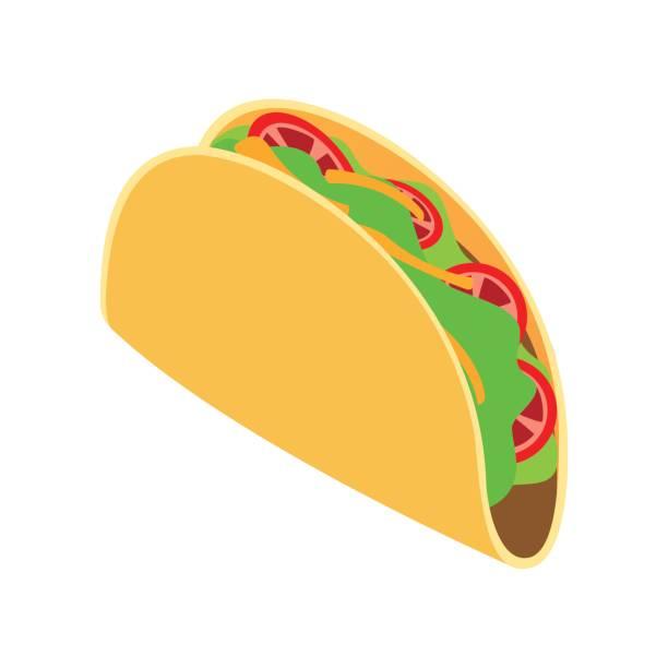 tortilla-wrap mit gemüse-symbol - tortillas stock-grafiken, -clipart, -cartoons und -symbole