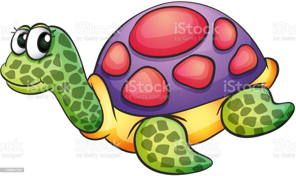 Tortuga ilustración de tortuga y más banco de imágenes de animal libre de derechos
