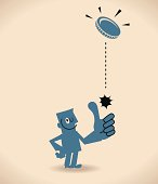 Vector illustration – Toss Up.