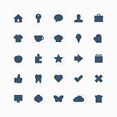 Total everyday icon set