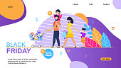 Total Sale on Black Friday Landing Page Template
