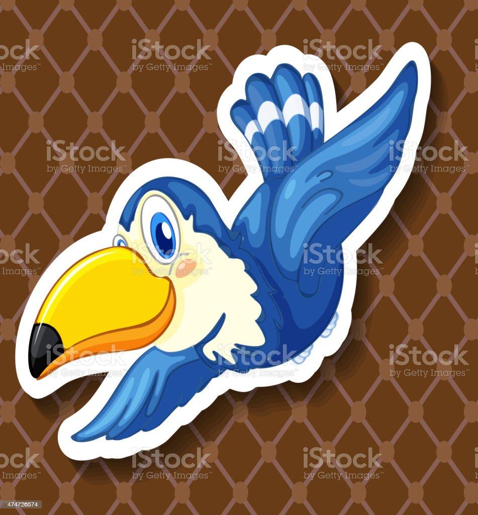 Toucan vector art illustration