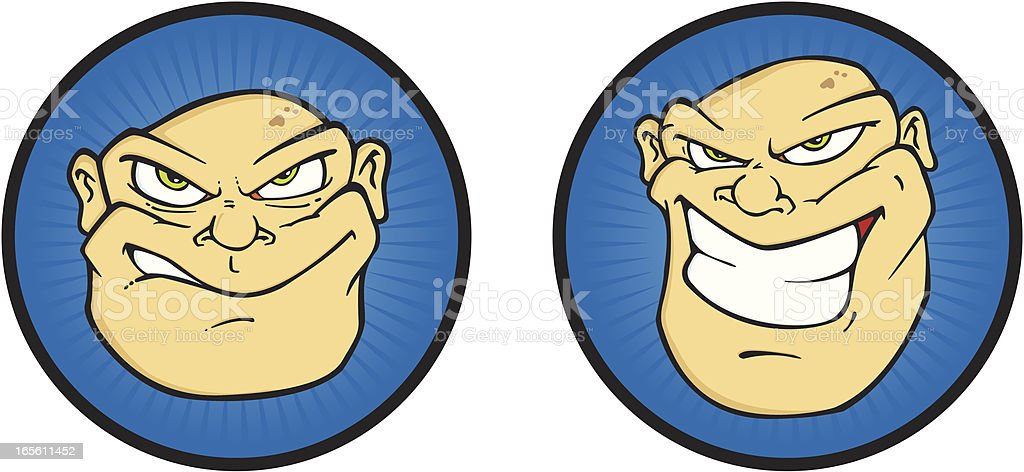 Tough Guy royalty-free tough guy stock vector art & more images of anthropomorphic smiley face
