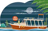 istock Tour boat 1316682034