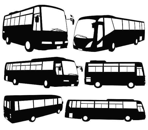 ツアーバス - バス点のイラスト素材/クリップアート素材/マンガ素材/アイコン素材