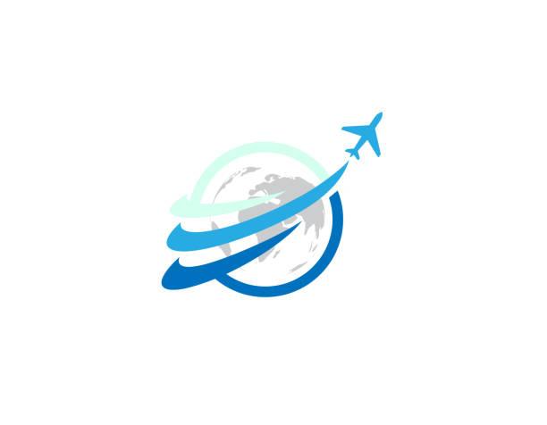 weltreise - illustration - reisebüro stock-grafiken, -clipart, -cartoons und -symbole