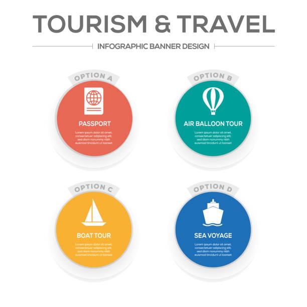 illustrations, cliparts, dessins animés et icônes de concept voyages et tourisme - camera sculpture