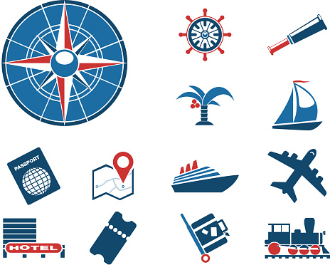 Tourism and Travel Icons