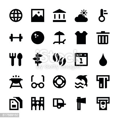 Tourism and Travel Vector Icons 4