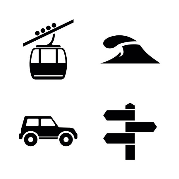 Best Jeep Beach Illustrations, Royalty-Free Vector