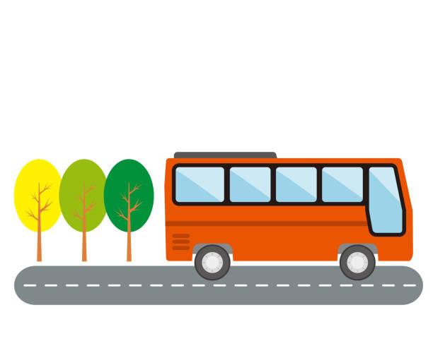 観光バス、高速バス、夜行バス - バス点のイラスト素材/クリップアート素材/マンガ素材/アイコン素材