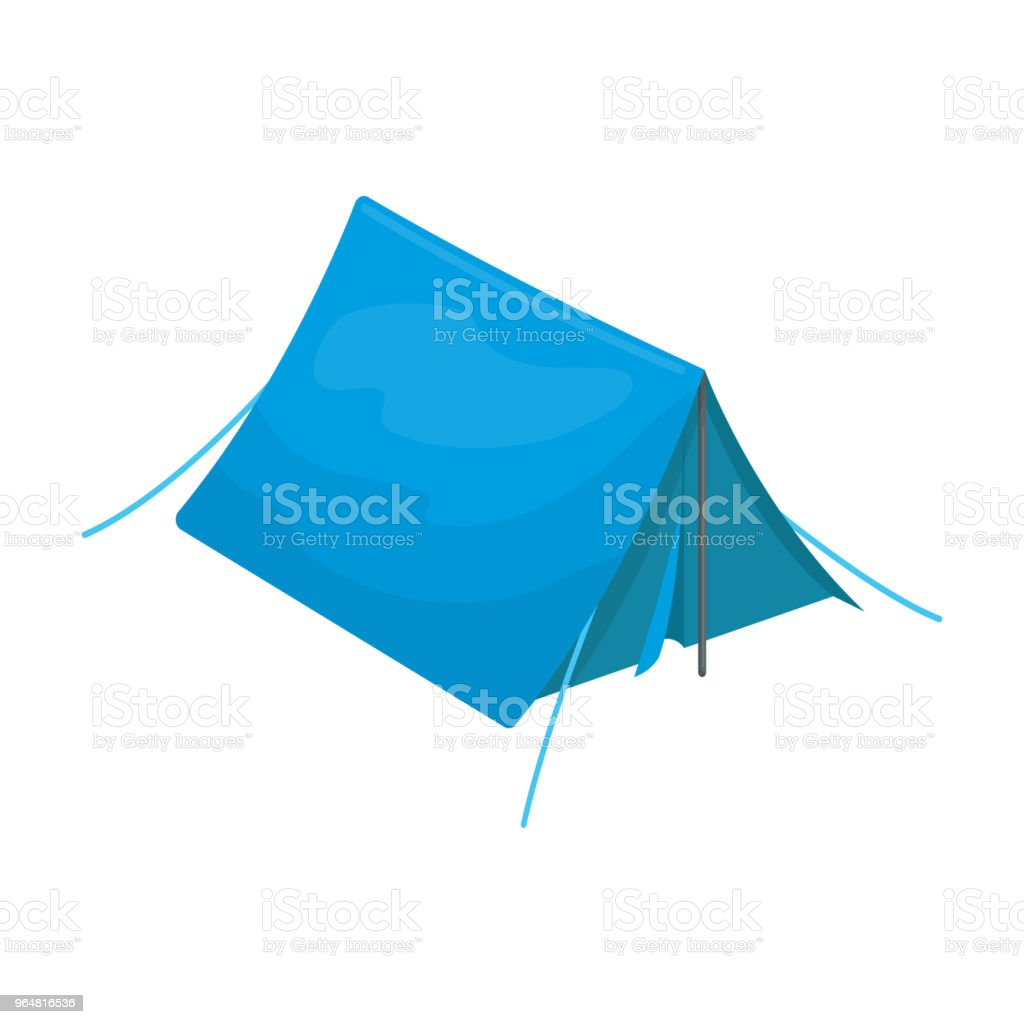 Tourist tent.Tent single icon in cartoon style vector symbol stock illustration web. royalty-free tourist tenttent single icon in cartoon style vector symbol stock illustration web stock vector art & more images of awning