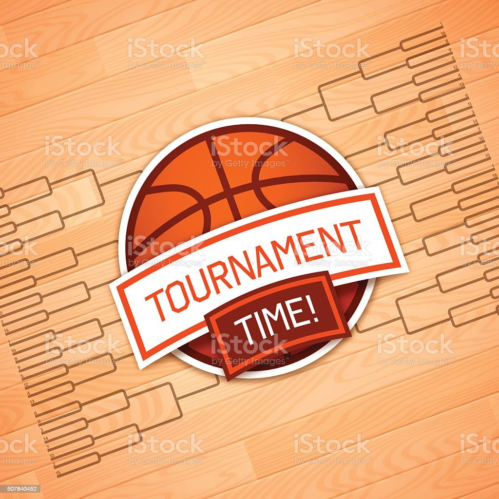 Tournament Time vector art illustration