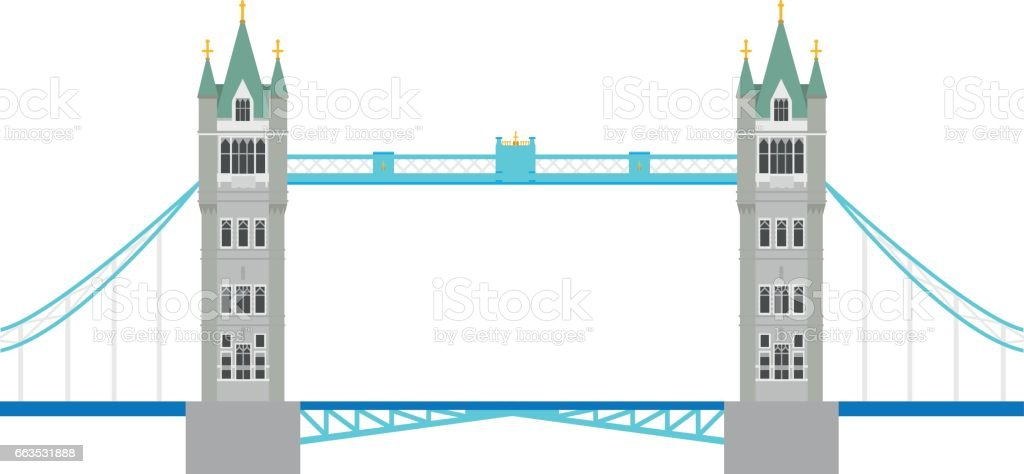 Royalty Free Tower Bridge Clip Art Vector Images Illustrations