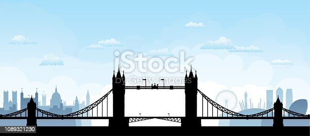 Tower Bridge, London (All Buildings Are Moveable and Complete)