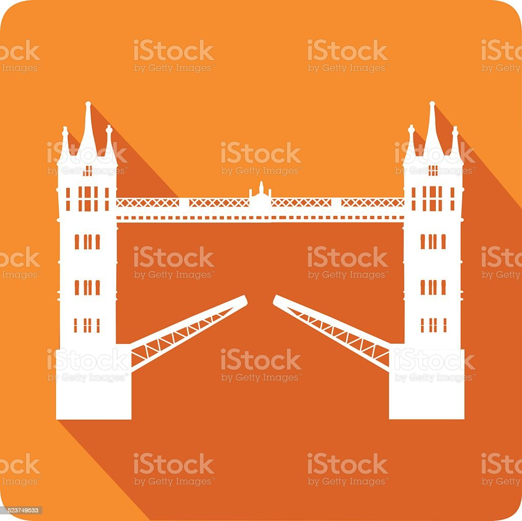 Tower Bridge, vector illustration vector art illustration