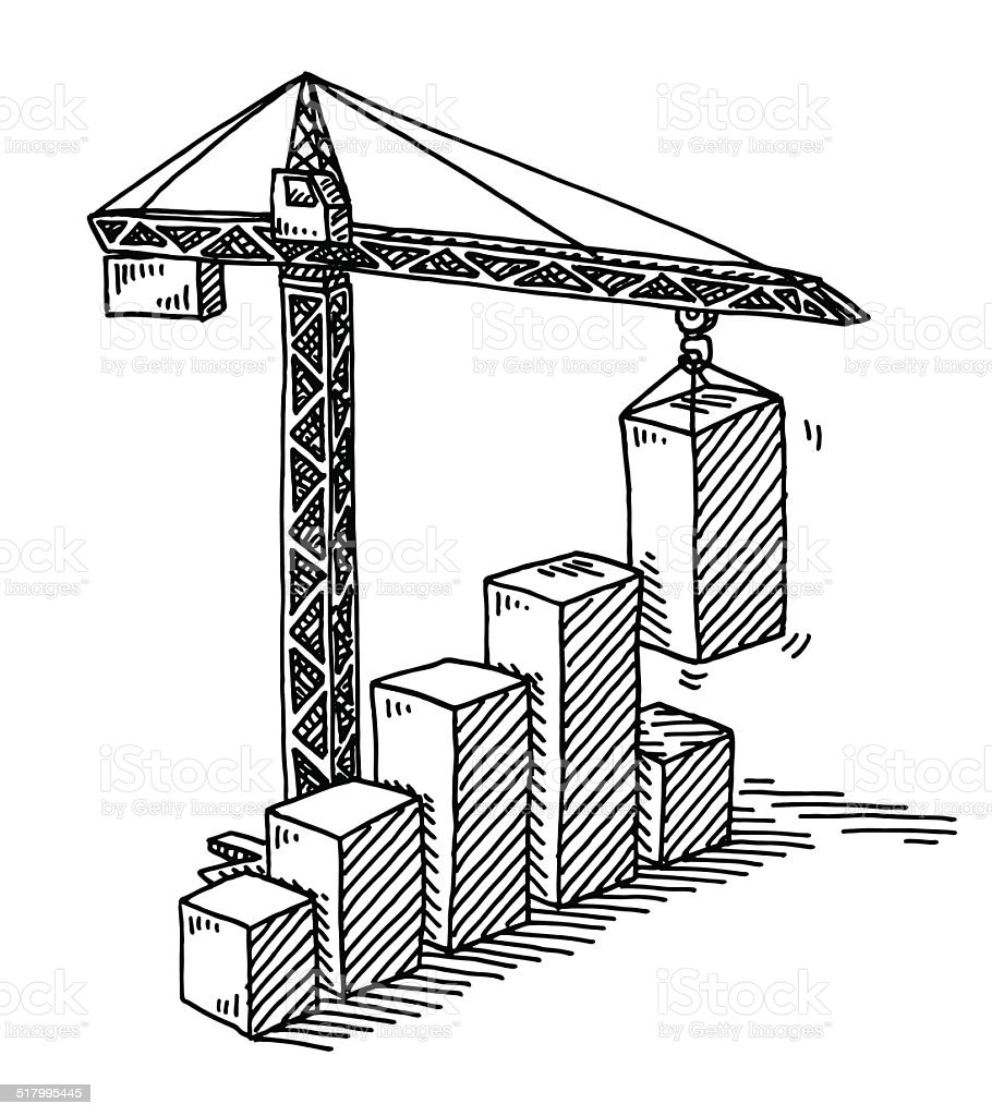 Ilustrao de torre do guindaste de construo bar desenho grfico torre do guindaste de construo bar desenho grfico de sucesso ilustrao de torre do guindaste de ccuart Gallery