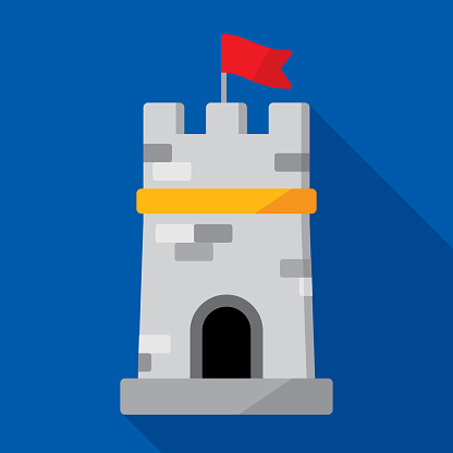 Tower Icon Flat