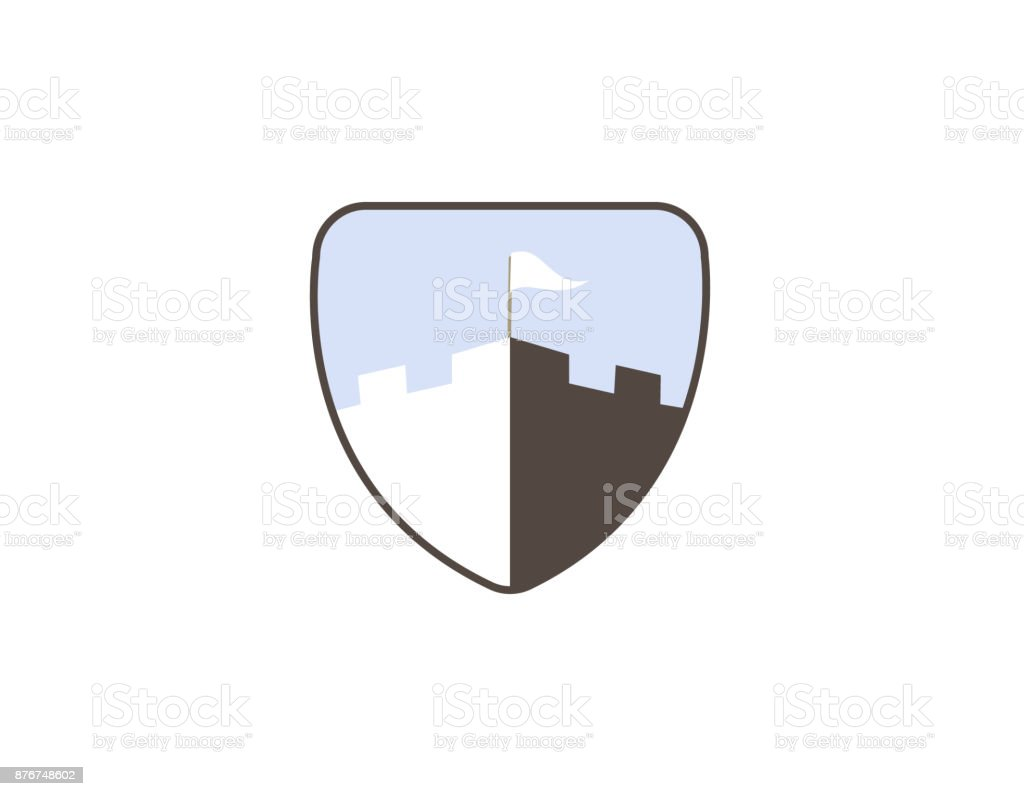 Tower Shield Symbol Clipart Library