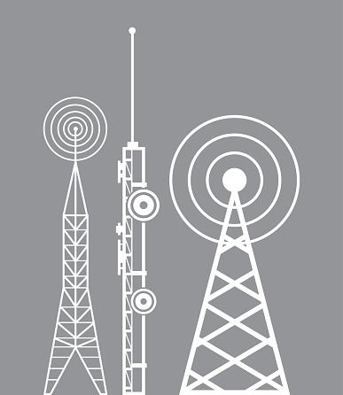 towers telecommunication television radio
