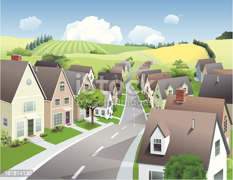istock Town and Country 161814130