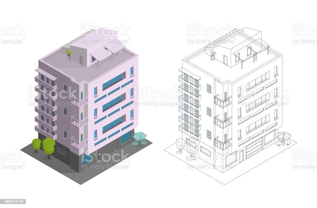 Construction De Maison En Rangée Mitoyenne Logement Maison De Ville ...