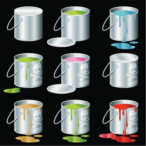 Toxic Cans http://dl.dropbox.com/u/38654718/istockphoto/Media/download.gif lead poisoning stock illustrations
