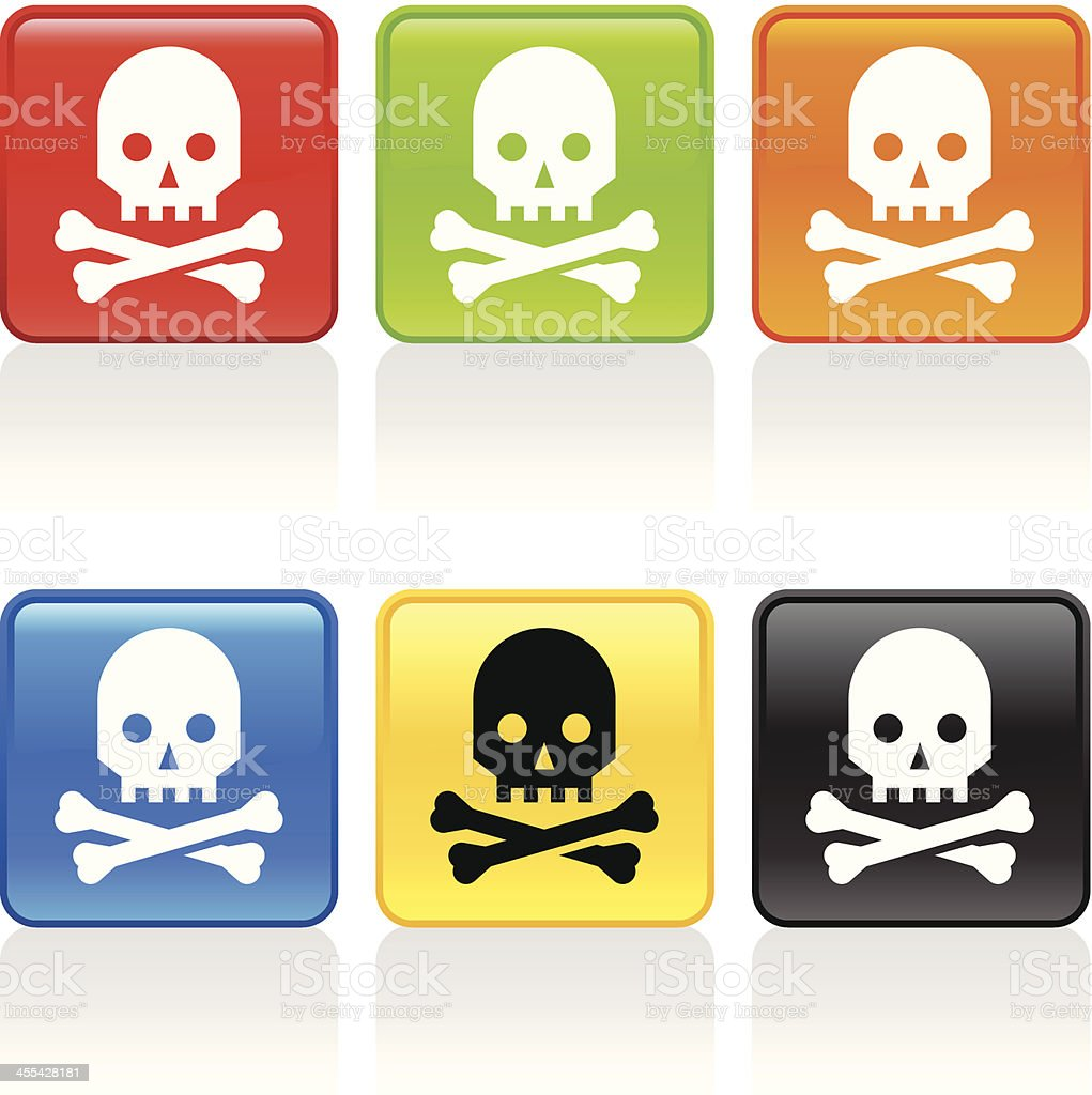 Toxic Icon royalty-free toxic icon stock vector art & more images of beauty