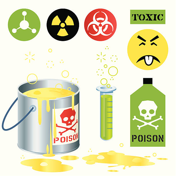 Toxic Poison http://dl.dropbox.com/u/38654718/istockphoto/Media/download.gif lead poisoning stock illustrations