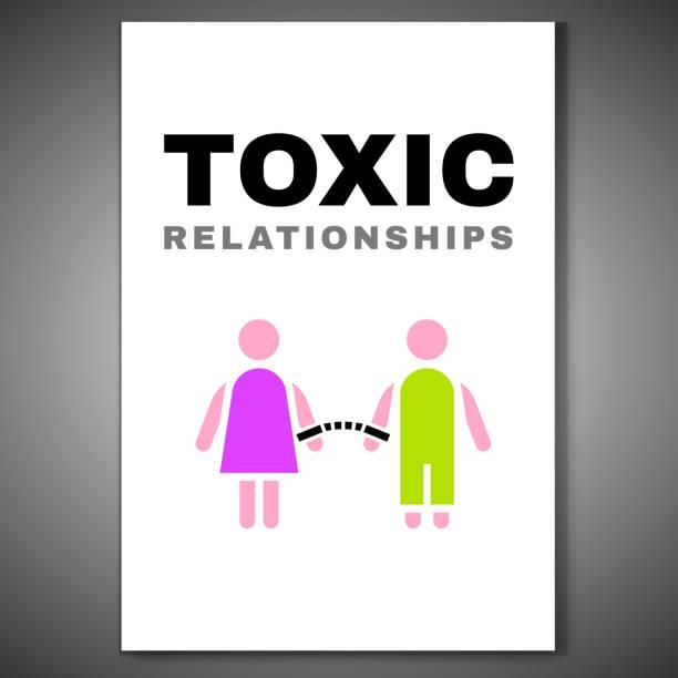 giftige beziehungen poster-08 - paararmbänder stock-grafiken, -clipart, -cartoons und -symbole