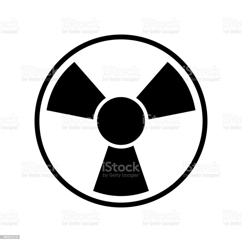Toxic Symbol Icon Vector Icon Simple Element Illustration Toxic