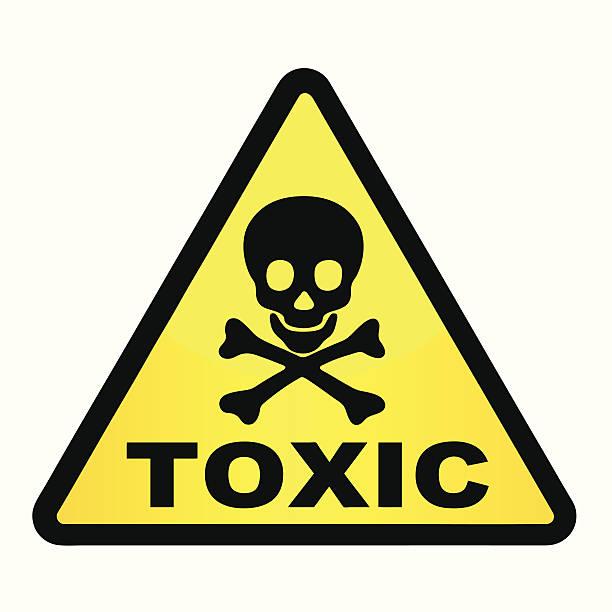 Toxic. Toxic. poisonous stock illustrations