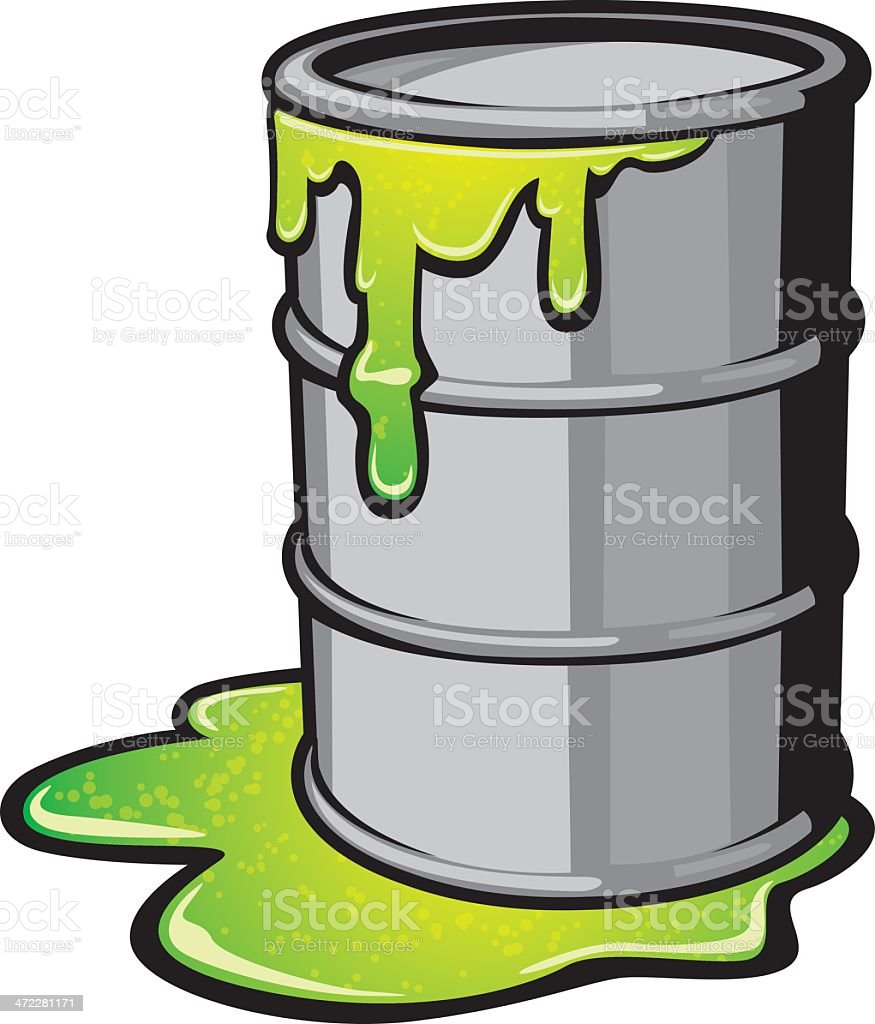 Toxic Waste Stock Vector Art & More Images of Barrel ...
