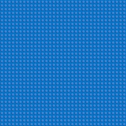 Toy blocks vector background. Vector seamless pattern