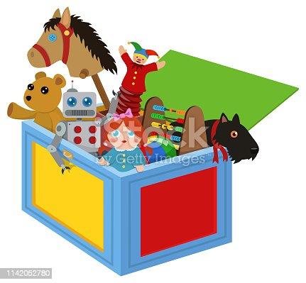 istock Toy Box 1142052780