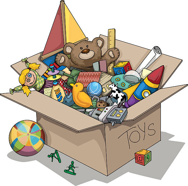Toy Box Clip Art : Royalty free toy clip art vector images illustrations
