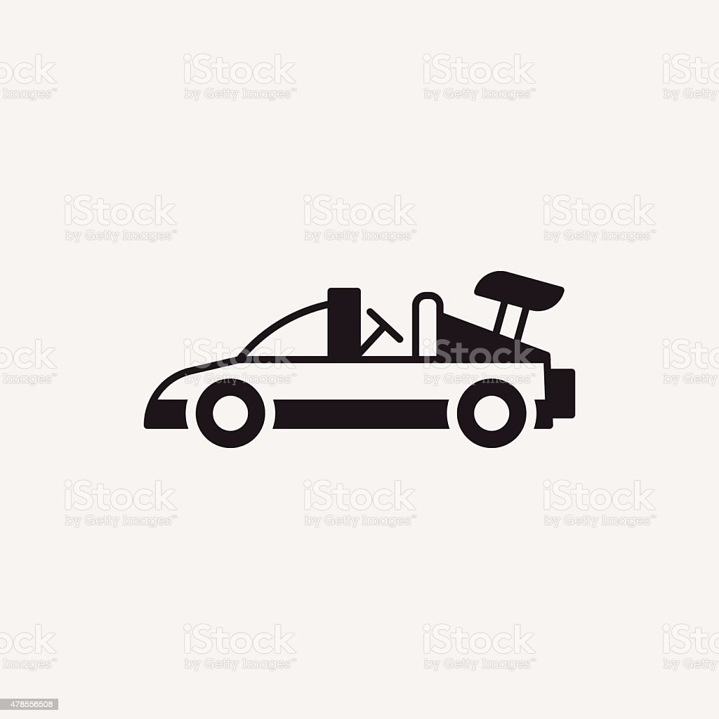 Toy Car Icon Stock Vector Art More Images Of 2015 478556508 Istock
