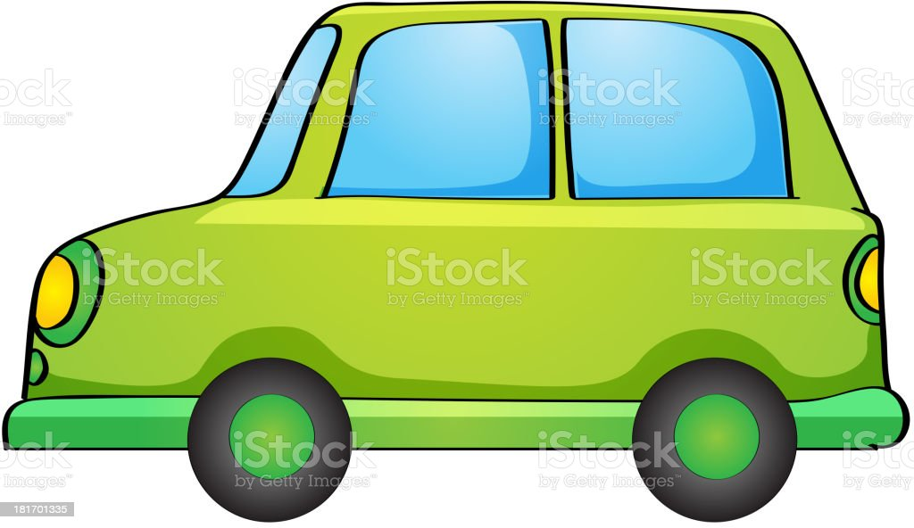 Toy car on white royalty-free toy car on white stock vector art & more images of car