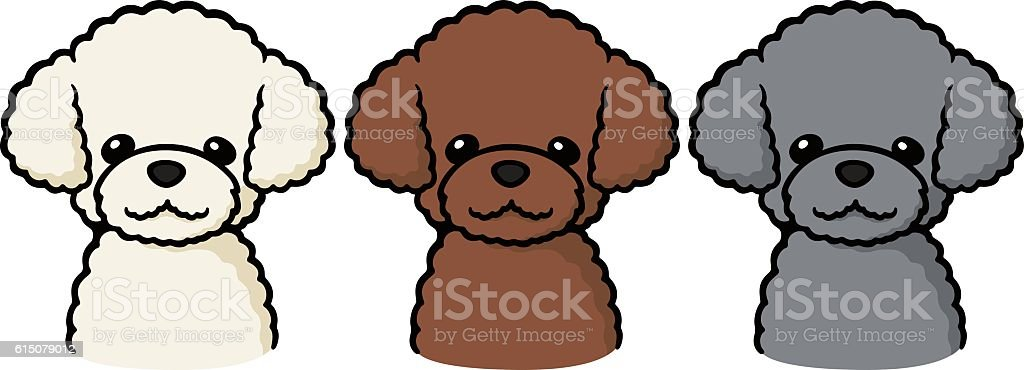 royalty free toy poodle clip art vector images illustrations istock rh istockphoto com poodle clipart for skirt poodle clipart free