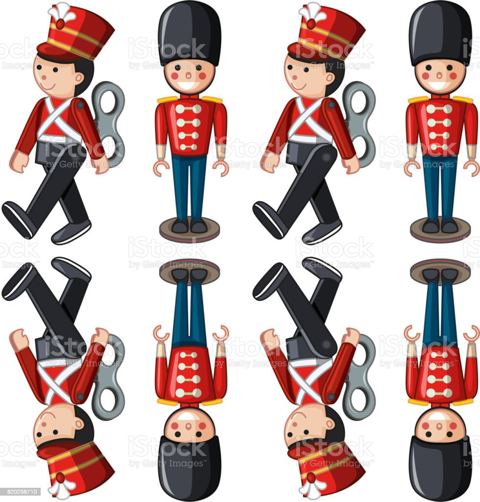 LOT of 10 Toy Soldier Adult Hats