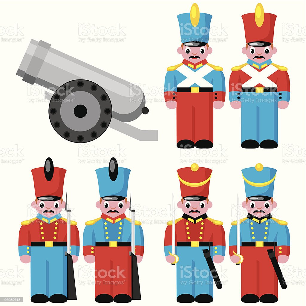 toy soldiers royalty-free toy soldiers stock vector art & more images of armed forces