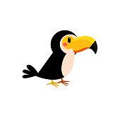 Toy Toucan Bird