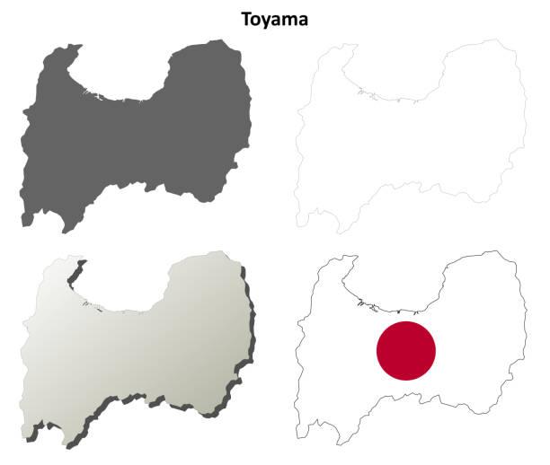 富山県 イラスト素材 Istock