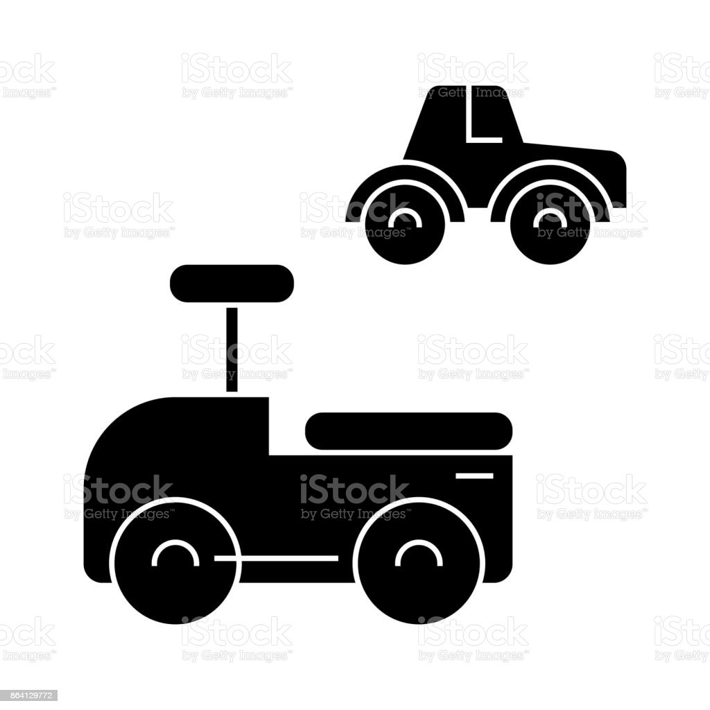 toys cars  icon, vector illustration, sign on isolated background royalty-free toys cars icon vector illustration sign on isolated background stock vector art & more images of arts culture and entertainment