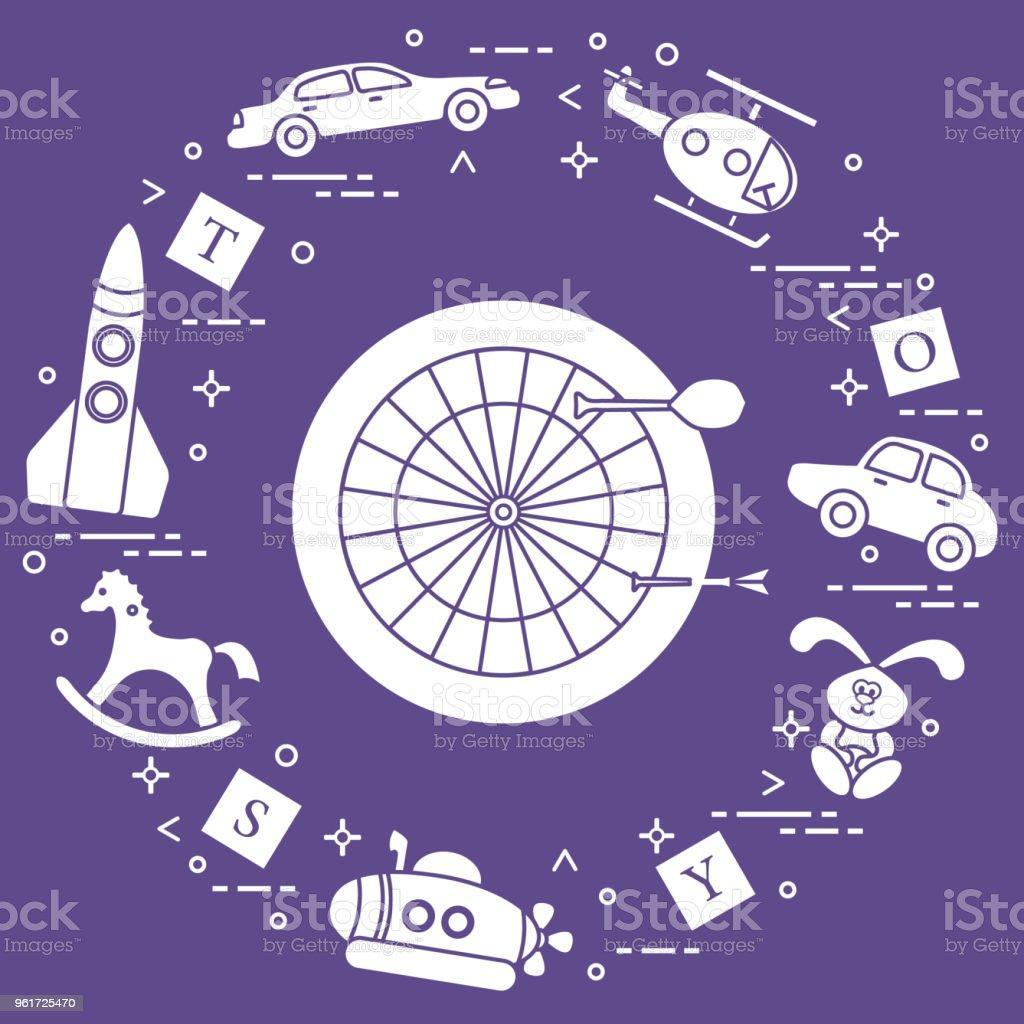 Spielzeug Fur Kinder Stock Vektor Art Und Mehr Bilder Von Auto