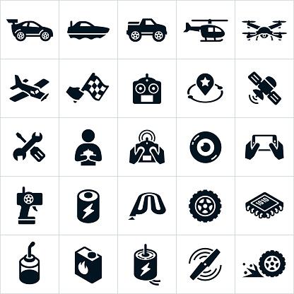 Rc おもちゃのアイコン - 1人のベクターアート素材や画像を多数ご用意