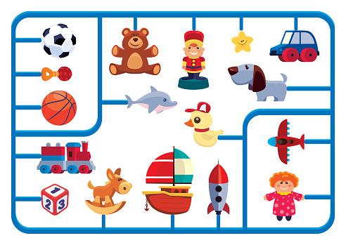 toys model kit