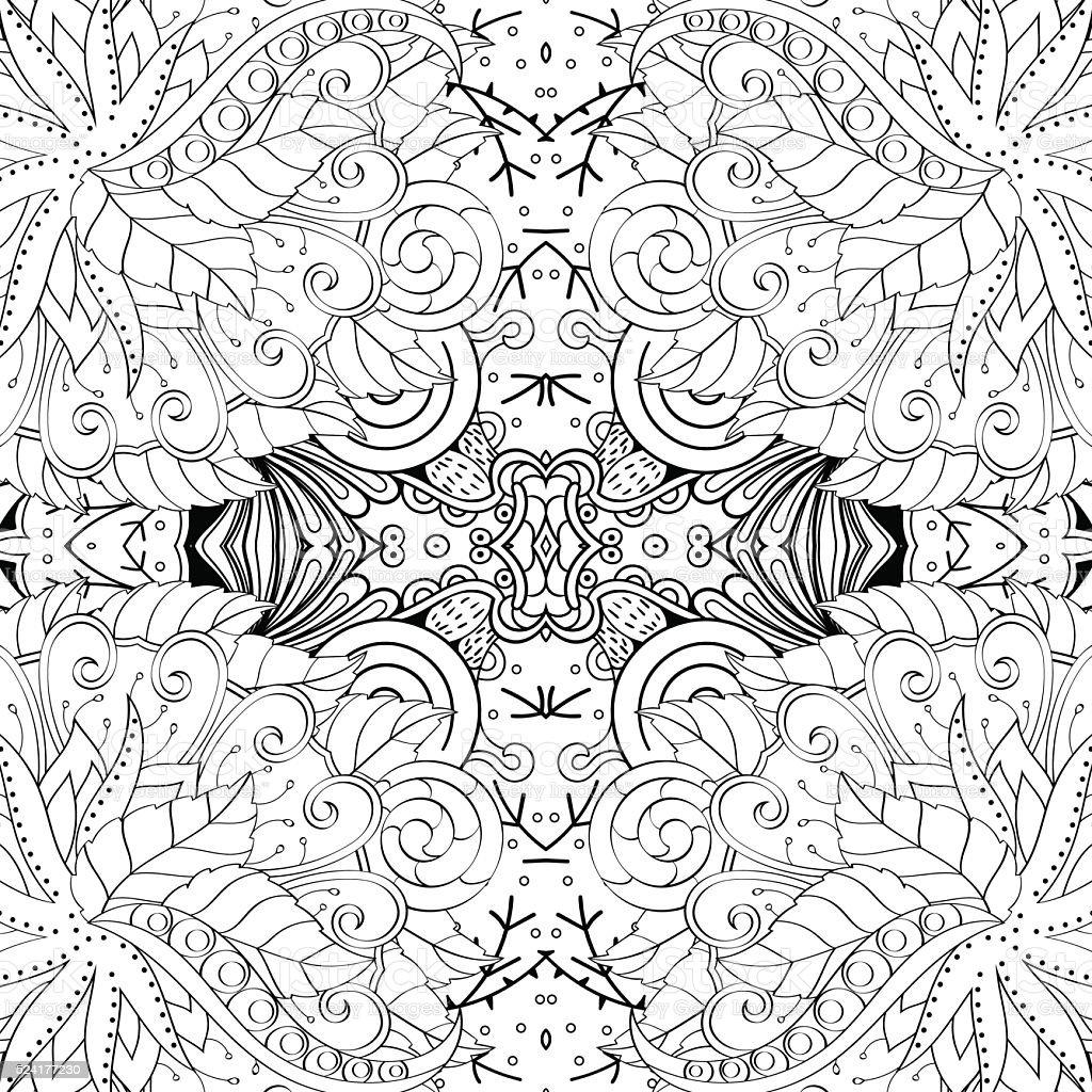 tracery seamless pattern ethnic binary mehndi doodle texture design Binary Options Trading ethnic binary mehndi doodle texture design vector royalty free